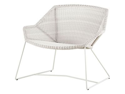 Cane-line Breeze Loungesessel, weiss