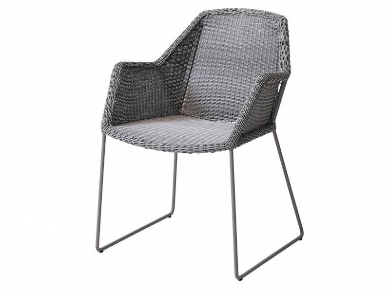 Cane-line Breeze Stuhl, light grey