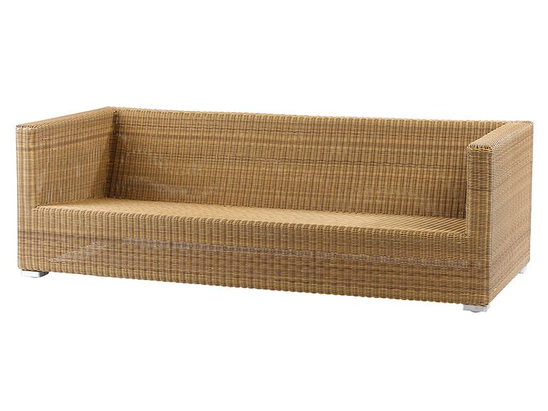 Cane-line Chester 3 Sitzer Loungesofa, Natur