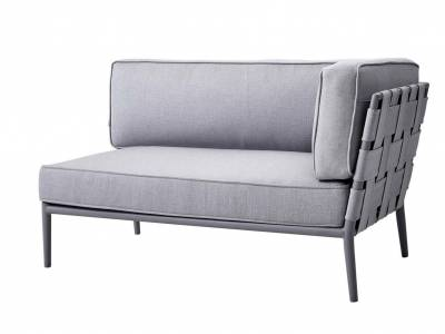 Cane-line Conic 2-Sitzer Sofa-Modul, links, Cane-line AirTouch