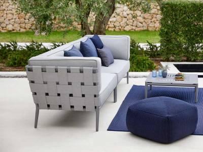 Cane-line Conic 2-Sitzer Sofa-Modul, rechts, Cane-line AirTouch