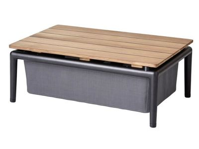 Cane-line CONIC Boxtisch, Grey
