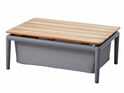 Cane-line CONIC Boxtisch, Light Grey