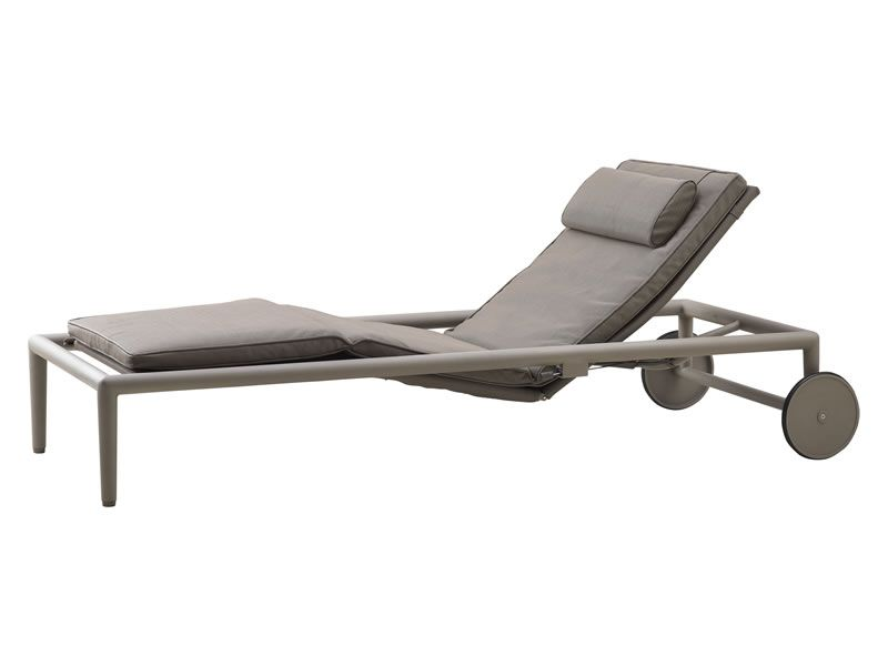 Cane-line Conic Outdoor Sunbed, braun