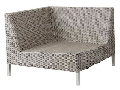 Cane-line CONNECT Lounge Eck-Modulsofa, taupe
