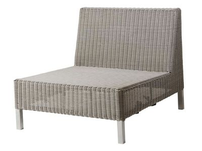 Cane-line CONNECT Lounge Einzelmodul, taupe