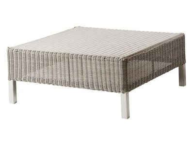 Cane-line CONNECT Lounge Hocker, taupe
