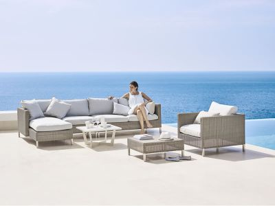 Cane-line CONNECT Lounge Sessel, taupe