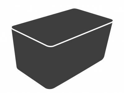 Cane-line Cover 23 - Geeignet für Basket Loungesessel/String 2-Sitzer Sofa, 135x110x90 cm