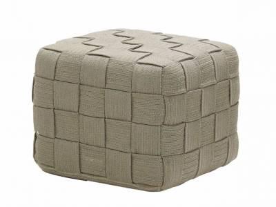 Cane-line Cube Hocker, Taupe
