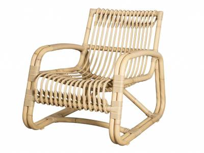 Cane-line Curve Loungesessel OUTDOOR, natural