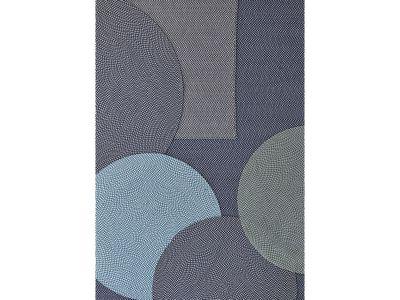 Cane-line DEFINED, Outdoor Teppich Ø 200 cm, Türkis