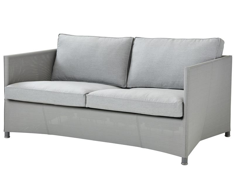 Cane-line Diamond 2-Sitzer Sofa inkl. Kissensatz, Tex & Cane-line Natté
