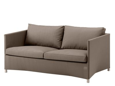 Cane-line Diamond 2-Sitzer Sofa inkl. Kissensatz (Tex & Sunbrella - Braun)
