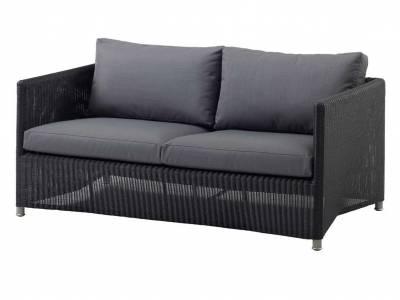 Cane-line Diamond 2-Sitzer Sofa inkl. Kissensatz, Weave