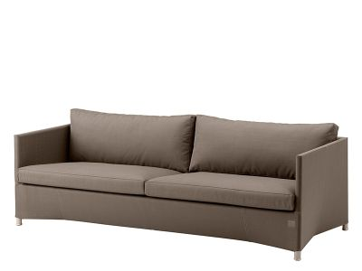 Cane-line Diamond 3-Sitzer Sofa inkl. Kissensatz (Tex & Sunbrella - Braun)