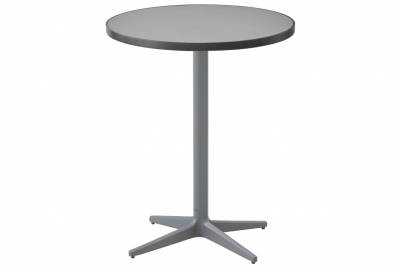Cane-line Drop Bistrotisch Light grey, versch. Tischplatten