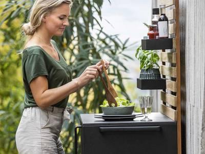 Cane-line Drop Küchen Modul Einzeln inkl. 2 Böden
