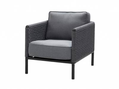 Cane-line ENCORE Lounge Sessel, Lava Grey