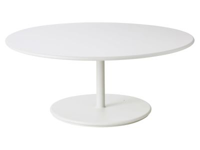 Cane-line GO Lounge Tisch Gestell, Weiß
