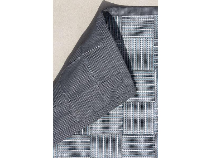 cane line i am outdoor teppich 300x300cm grau t rkis. Black Bedroom Furniture Sets. Home Design Ideas