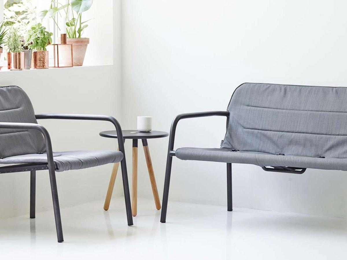 cane line kapa loungesessel grau gartenm bel hamburg shop. Black Bedroom Furniture Sets. Home Design Ideas