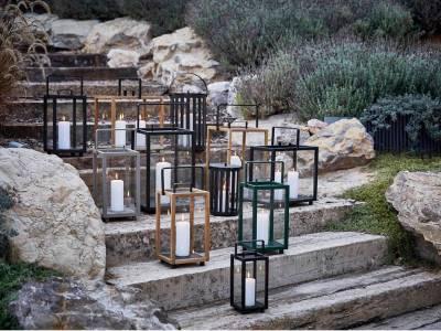 Cane-line Lighthouse Teak Laterne, groß