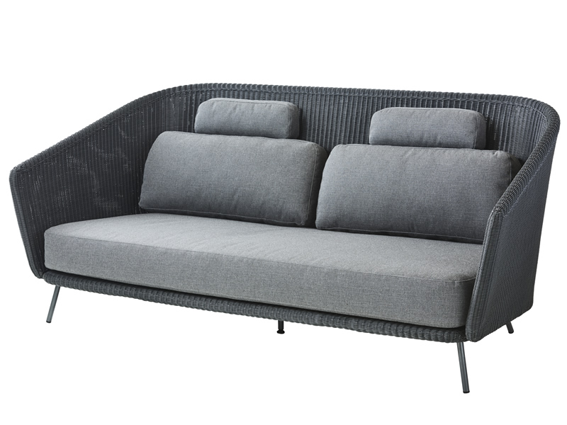 Cane Line Mega 2 Sitzer Lounge Sofa Inkl Kissensatz Gartenmöbel