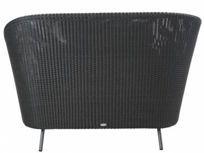 Cane-line Mega Lounge Sessel, inkl. Grey Kissensatz