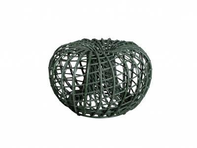 Cane-line Nest Hocker klein Dark green