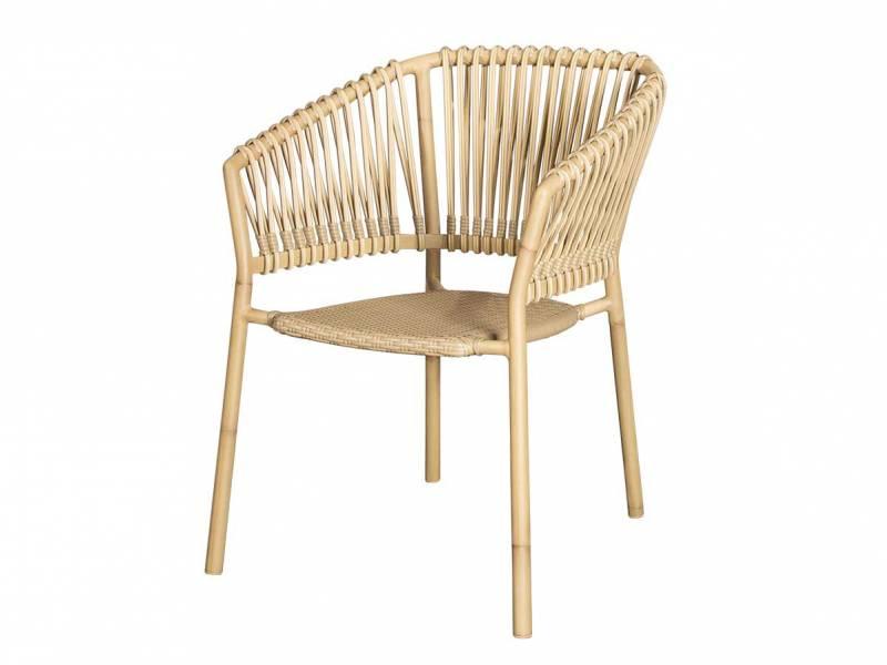Cane-line Ocean Stuhl, stapelbar, Natural, Cane-line Weave