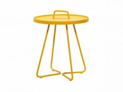 Cane-line On-The-Move Beistelltisch, klein, Yellow