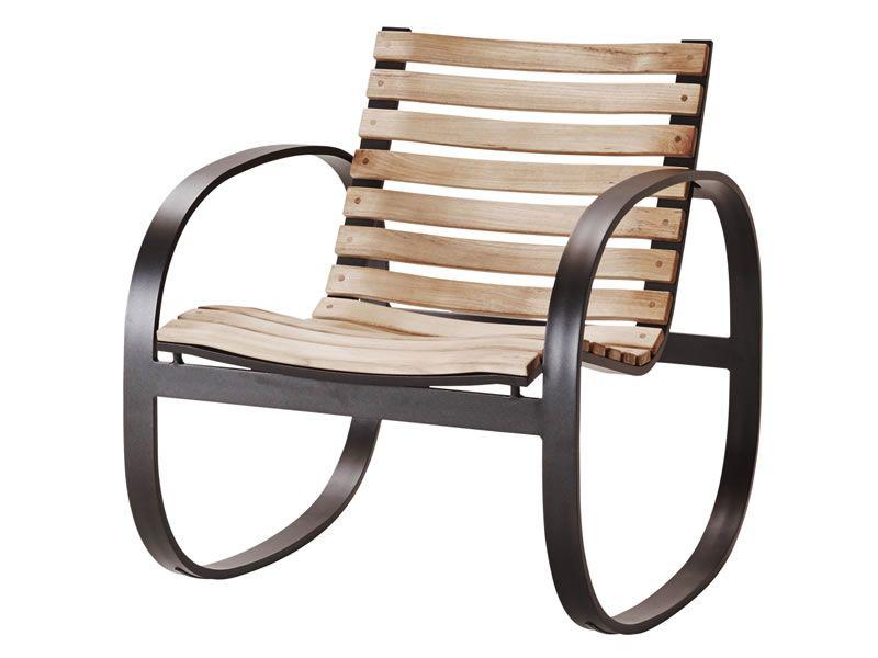 cane line parc schaukelstuhl teak aluminium gartenm bel hamburg shop. Black Bedroom Furniture Sets. Home Design Ideas