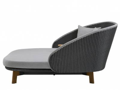 Cane-line Peacock Daybed m/Tisch, inkl. Kissen, Cane-line Weave