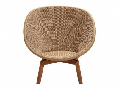 Cane-line Peacock Lounge Sessel m/Teak Beine, Cane-line Weave Natural (5458)
