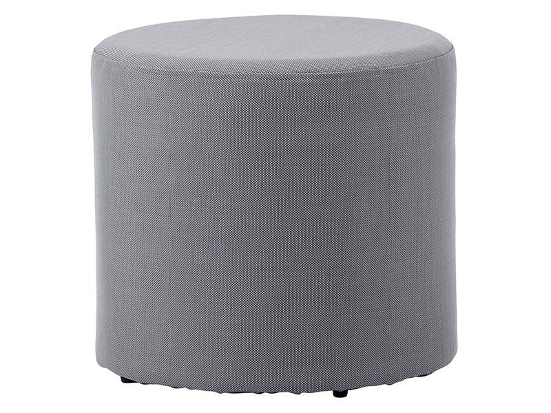 Cane-line Rest Beistelltisch/Hocker, grau dia. 44 cm