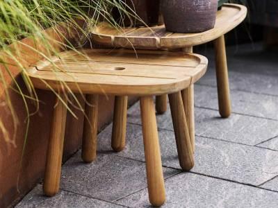 Cane-line Royal coffee table, Teak, Rektangular