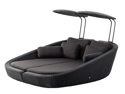 Cane-line Savannah Daybed Modul, links, schwarz
