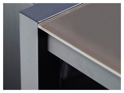 Cane-line Share Esstisch, Aluminium, Schwarz, 160x100 cm
