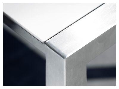 Cane-line Share Esstisch, Edelstahl 160x100 cm