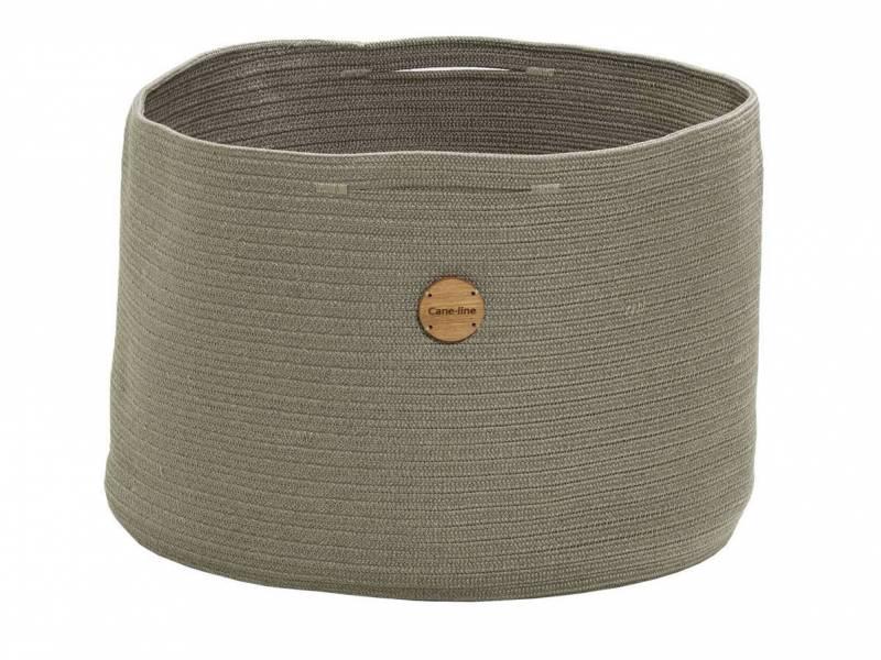 Cane-line Soft Rope Korb, groß, dia. 50 cm, Taupe