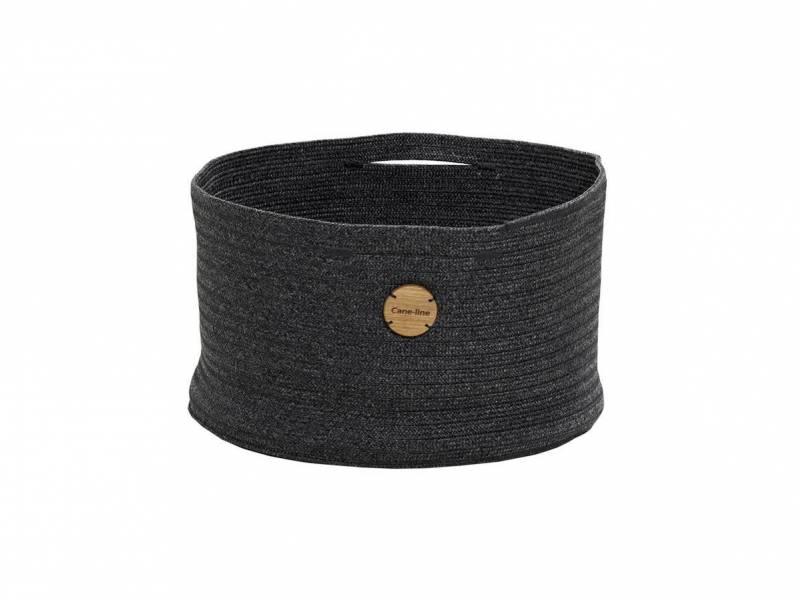 Cane-line Soft Rope Korb, medium, dia. 40 cm, Dark Grey