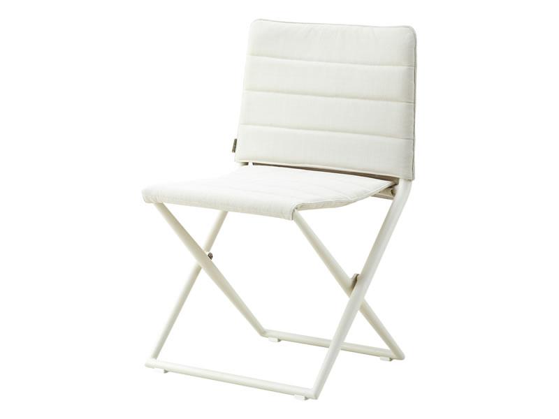 cane line traveller tex stuhl klappbar wei. Black Bedroom Furniture Sets. Home Design Ideas