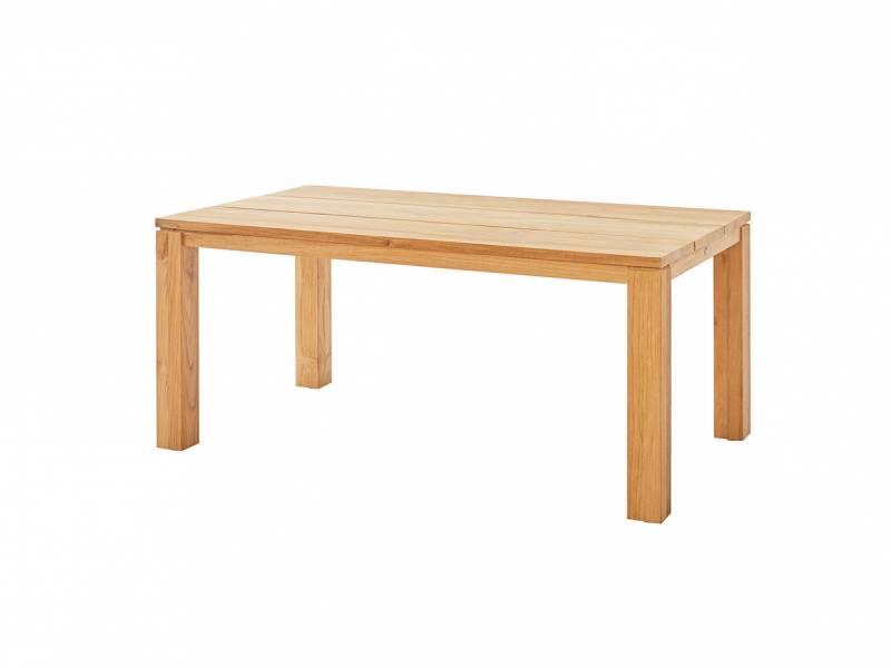 Diamond Garden Nizza Tisch - 3 Planken 170×95 cm, Recycled Teak Natur