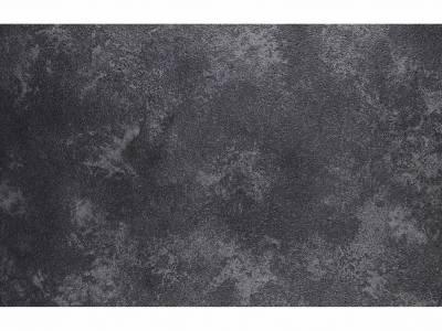 Diamond Garden San Marino Tisch Edelstahl, Tischplatte HPL Granit Dunkel 120 cm