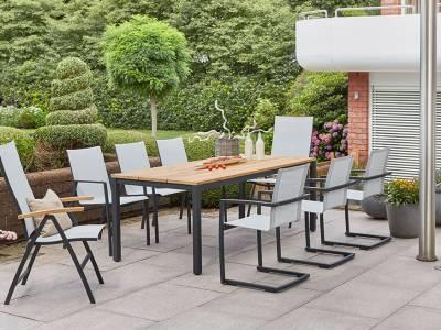 Diamond Garden Tisch Ravenna 210 x 100 cm
