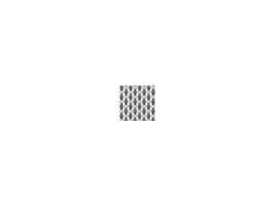 Diamond Garden Venedig Fußhocker silber/weiß