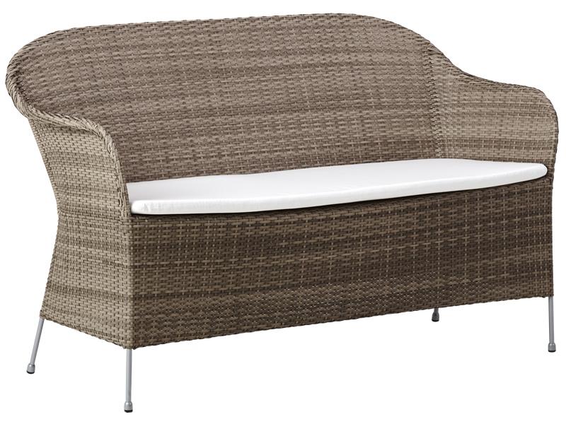 Sika Design AVANTGARDE Athene 2-Sitzer Sofa - Taupe