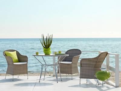 Sika Design AVANTGARDE Athene Stuhl - Taupe