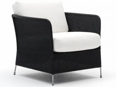 Sika Design AVANTGARDE Orion Stuhl, inkl. Kissen - Schwarz